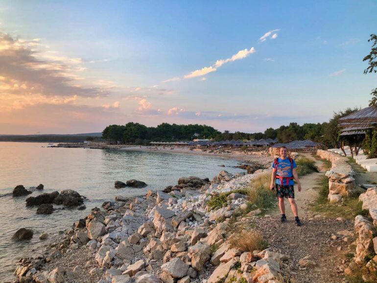 Steven at Meduna Beach