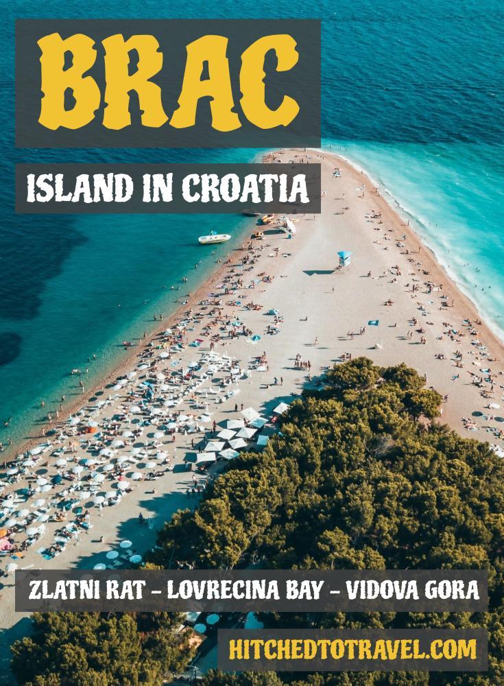 Visit the island Brač poster 2