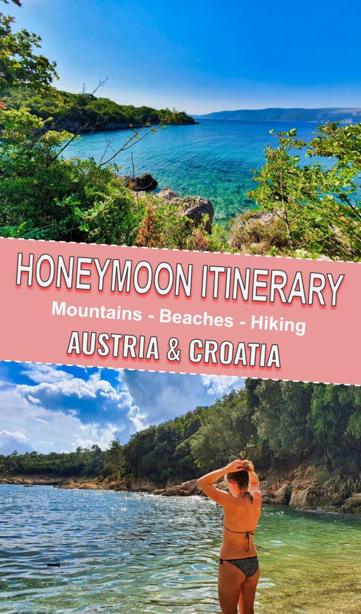 Honeymoon in Croatia poster