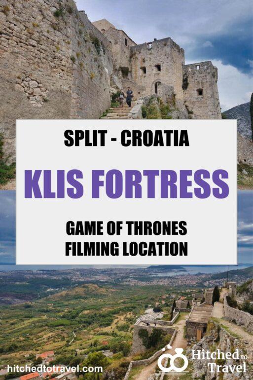 Klis Fortress Poster
