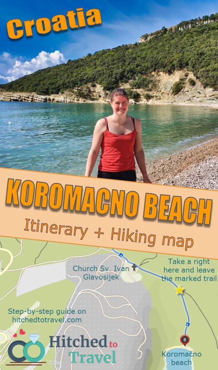 Koromačno Beach Poster