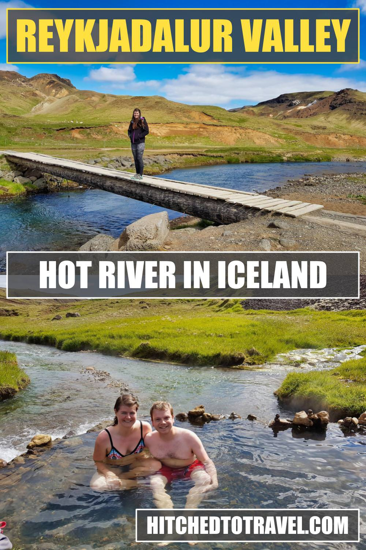 Reykjadalur Valley Poster