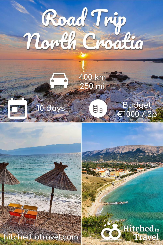 Poster Road Trip Croatia 10 days