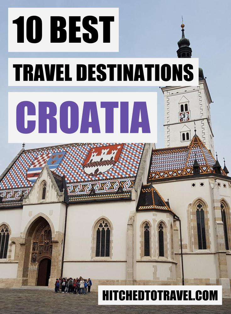 Top 10 places to visit in Croatia - Zagreb cover