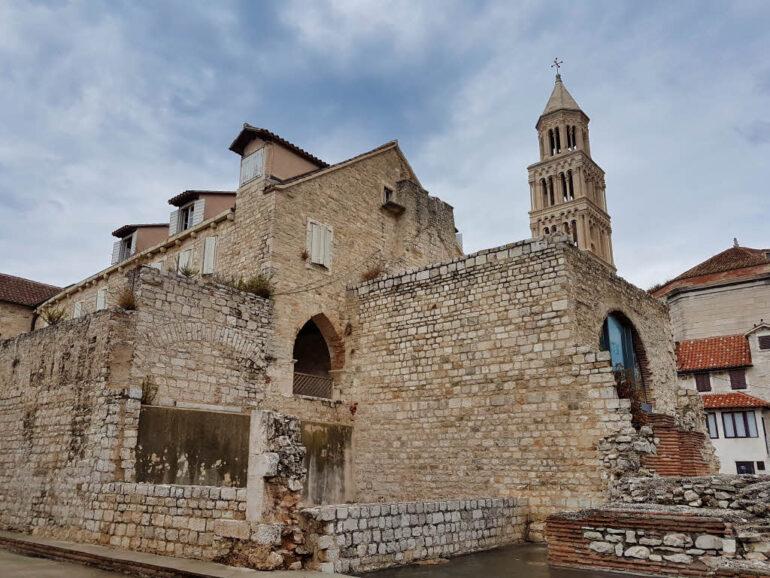 The Bell Tower of Split Croatia