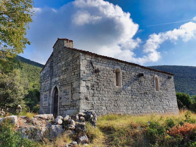 Church Sv. Ivan Glavosijek in Croatia