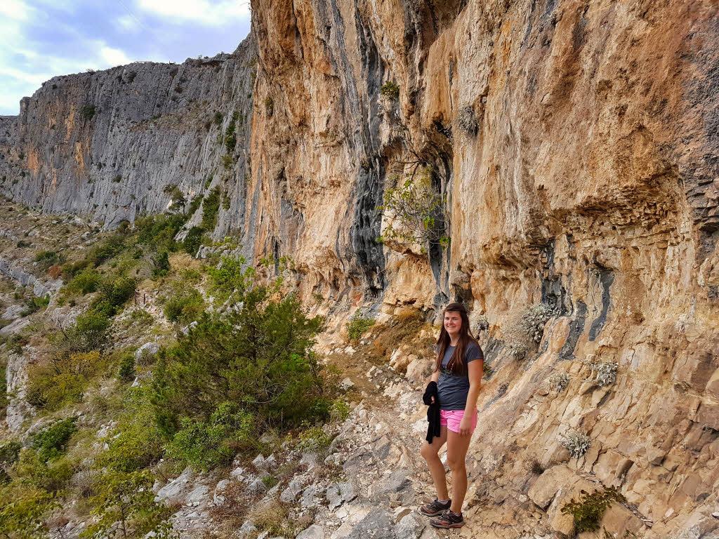 Cliffs of the Cikola Canyon