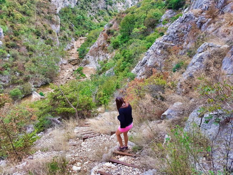 Descend into the Cikola Canyon in Croatia