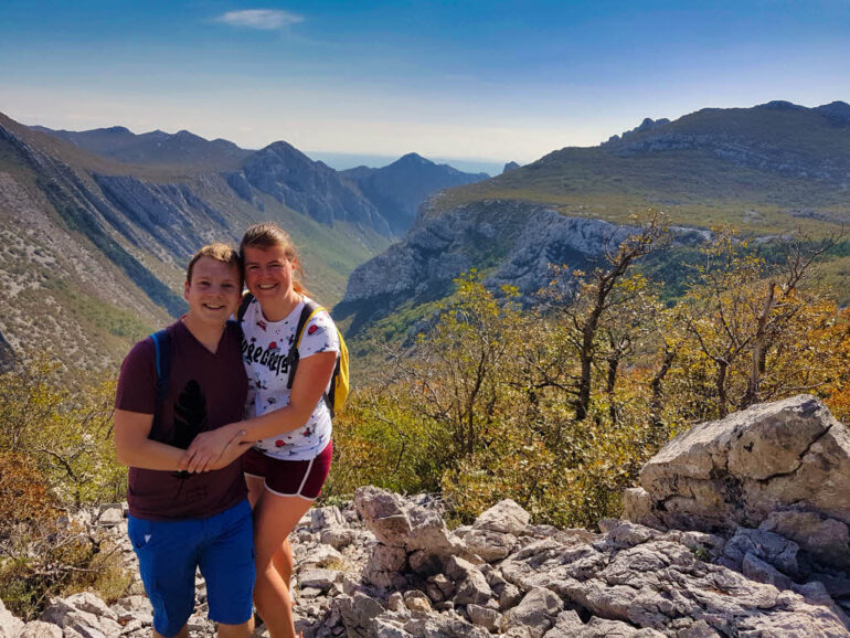 Paklenica National Park viewpoint