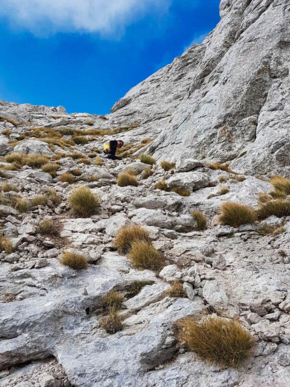 Going down from Balinovac mountain