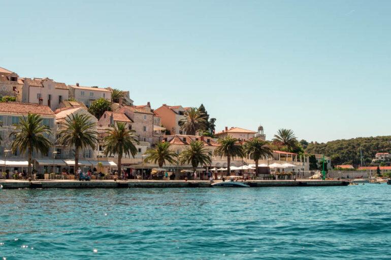 Hvar city in Croatia