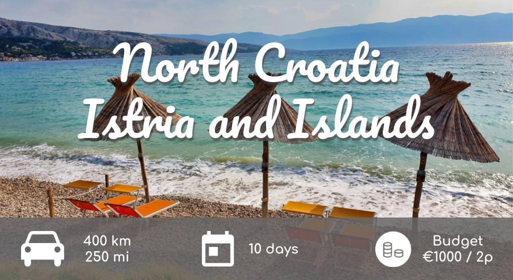 Summary Road Trip north of Croatia