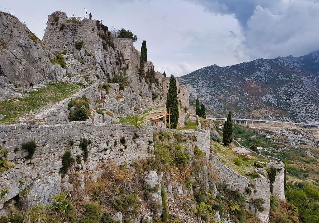 Klis fortress Croatia Mereen filming location