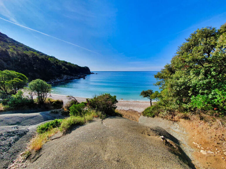 Koromačno Beach one of our top 10 beaches in Croatia