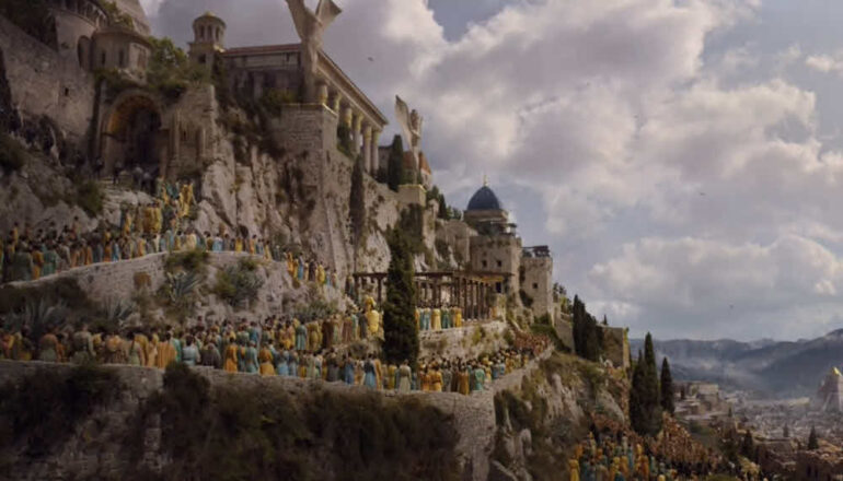 Meereen city - Klis fortress as used in Game of Thrones