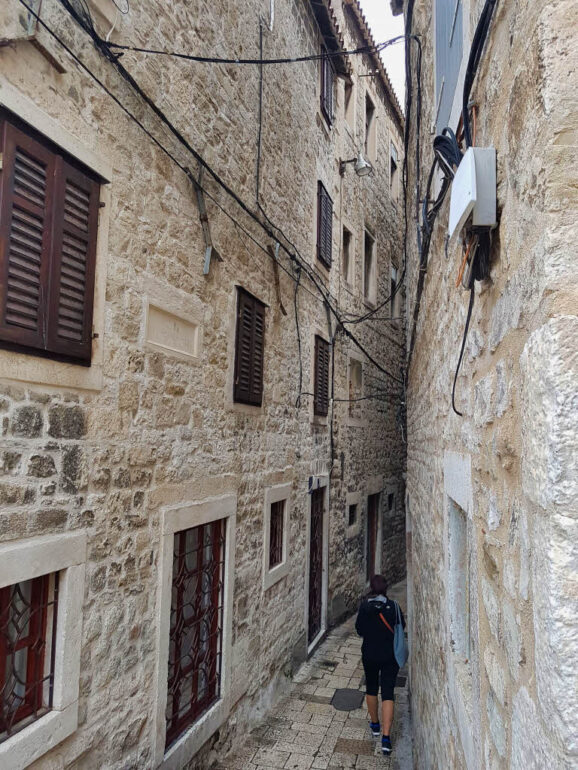 The small streets of the Diocletian's Palace