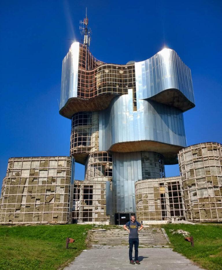 Petrova Gora monument in Croatia