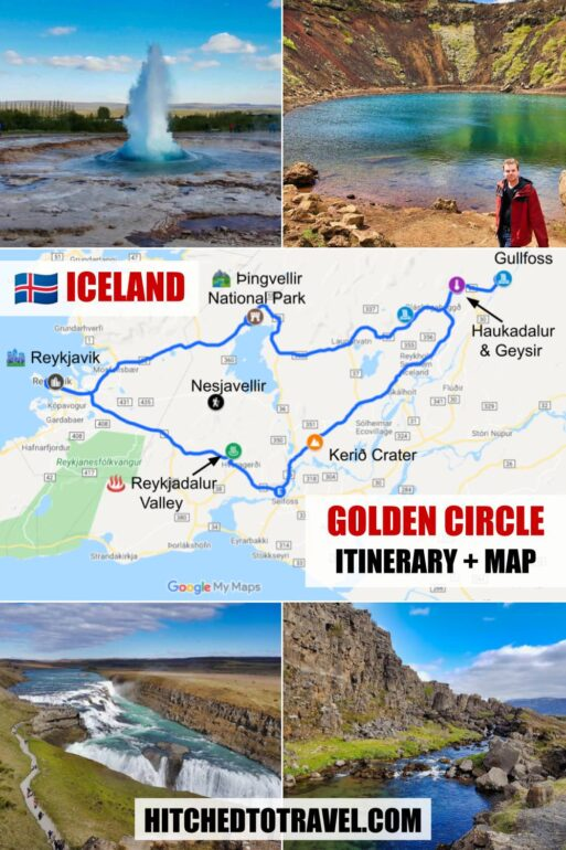 Golden Circle in Iceland Poster