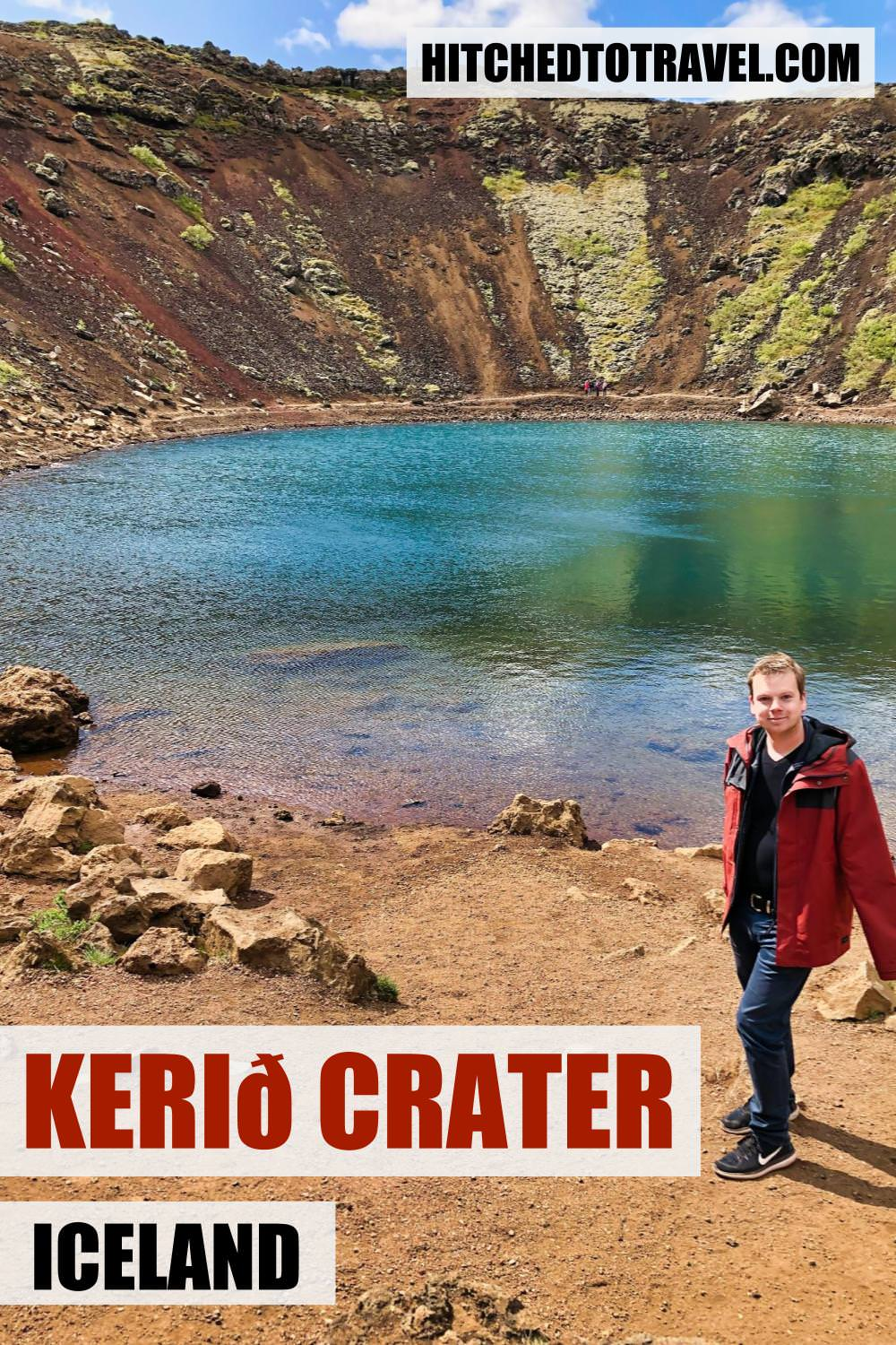 Kerid Crater - Volcanic Lake in Iceland