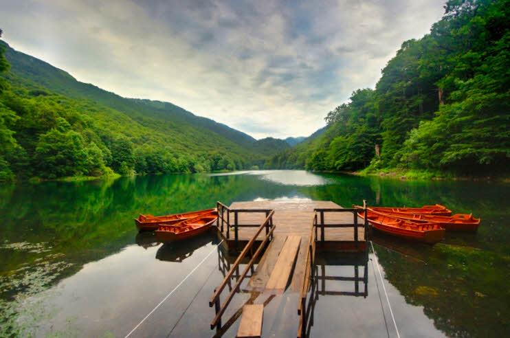 Lake Biograd in Biogradska Gora National Park