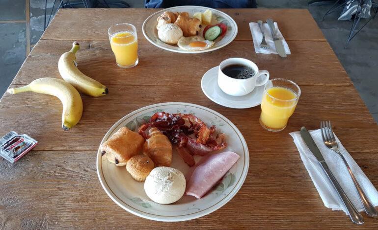 Breakfast at Litli Geysir Hotel in Iceland