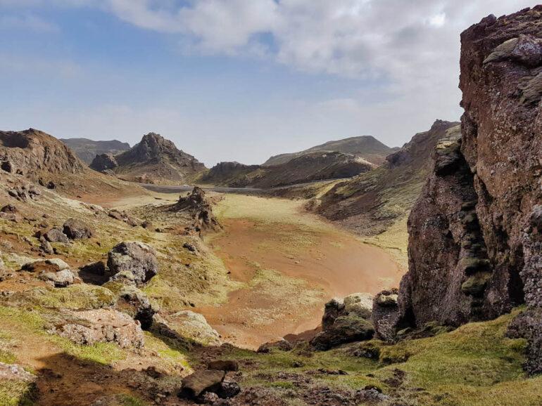 Nesjavellir geothermal area in Iceland